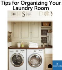 Tips for Organizing Your Laundry Room