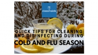 Quick Tips for Cleaning and Disinfecting During Cold and Flu Season