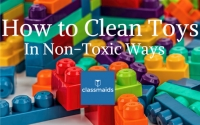 How to Clean Toys in Non-Toxic Ways